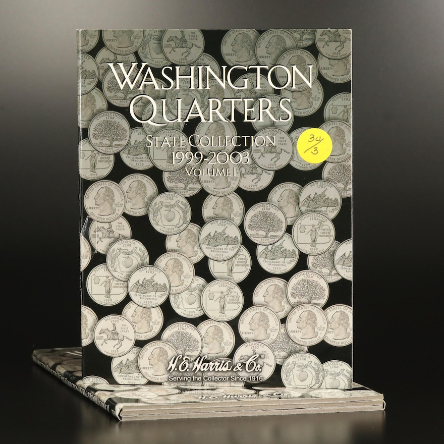 Nearly Complete Set of P and D U.S. Statehood Quarters