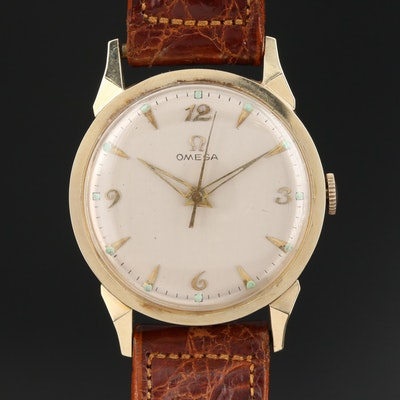 Vintage Omega 14K Wristwatch