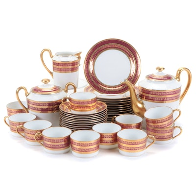 Dartigeas Limoges Porcelain Dinner and Tableware