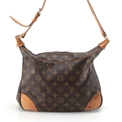 Louis Vuitton Boulogne 30 Shoulder Bag in Monogram Canvas