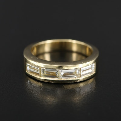 18K 1.45 CTW Diamond Band