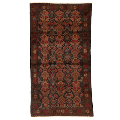3'5 x 6'3 Hand-Knotted Afghan Baluch Area Rug