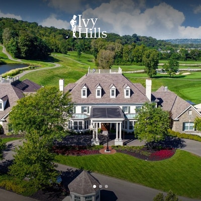 Ivy Hills Country Club Golf Round of Golf for Four with Cart