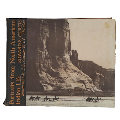 """Portraits from North American Indian Life"" by Edward S. Curtis, 1972"