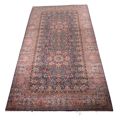 8'6 x 18'1 Machine Made Karastan Wool Room Sized Rug