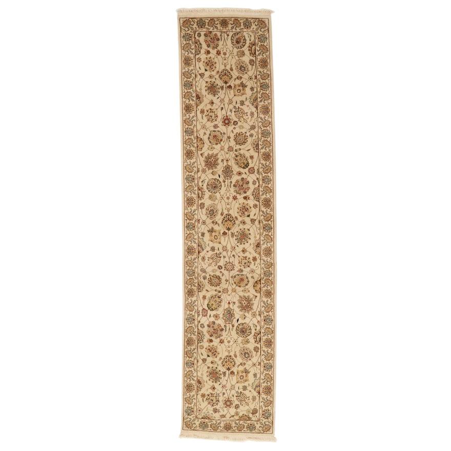 2'3 x 10'5 Hand-Knotted Sino-Persian Tabriz Wool Carpet Runner