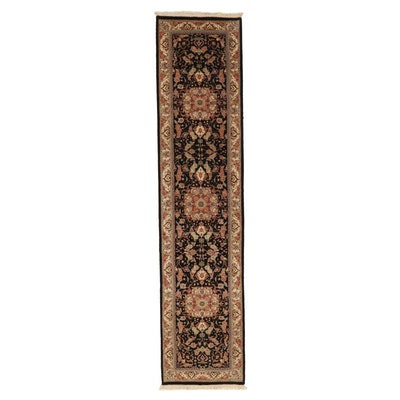 2'3 x 10'1 Hand-Knotted Indo-Persian Tabriz Wool Carpet Runner