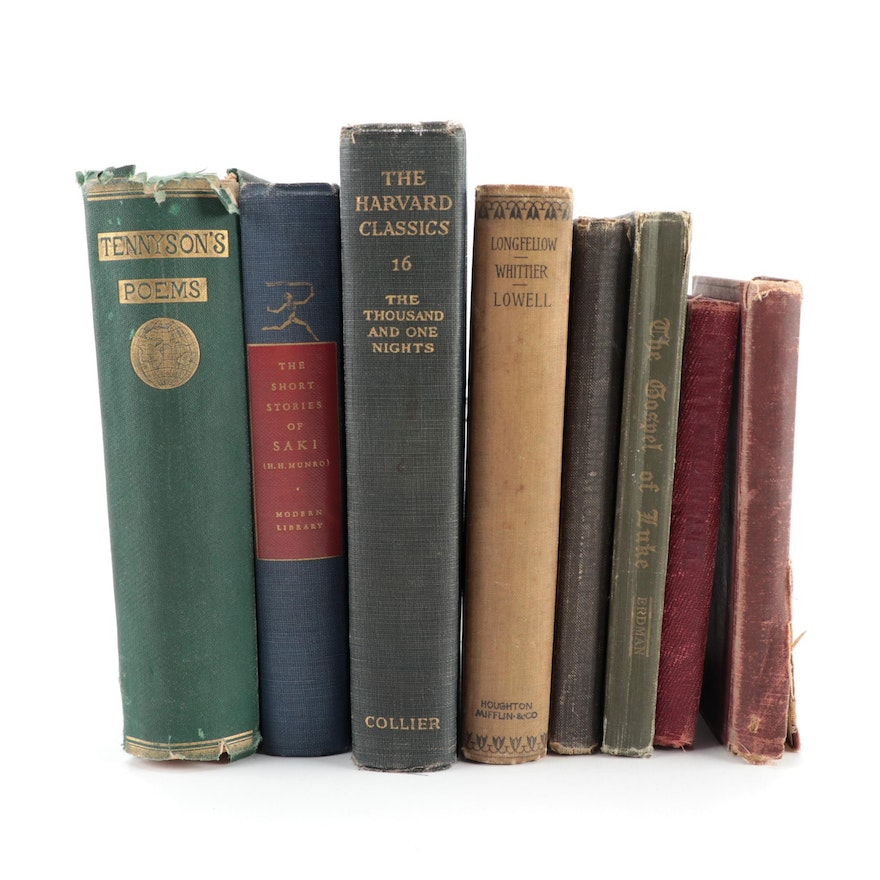 Poetry, Short Stories, and Textbooks, Late 19th/Early 20th Century