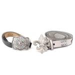 Miss J Designs and Nocona Belt Co. Embellished Leather Belts