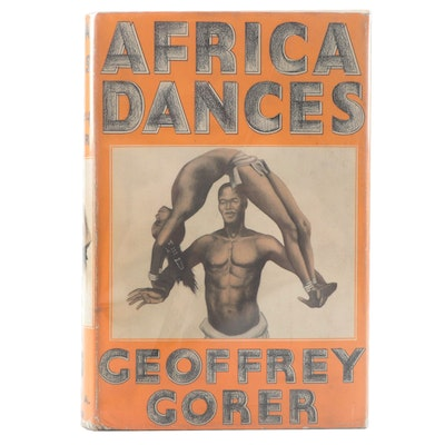 "First American Edition ""Africa Dances"" by Geoffrey Gorer, 1935"