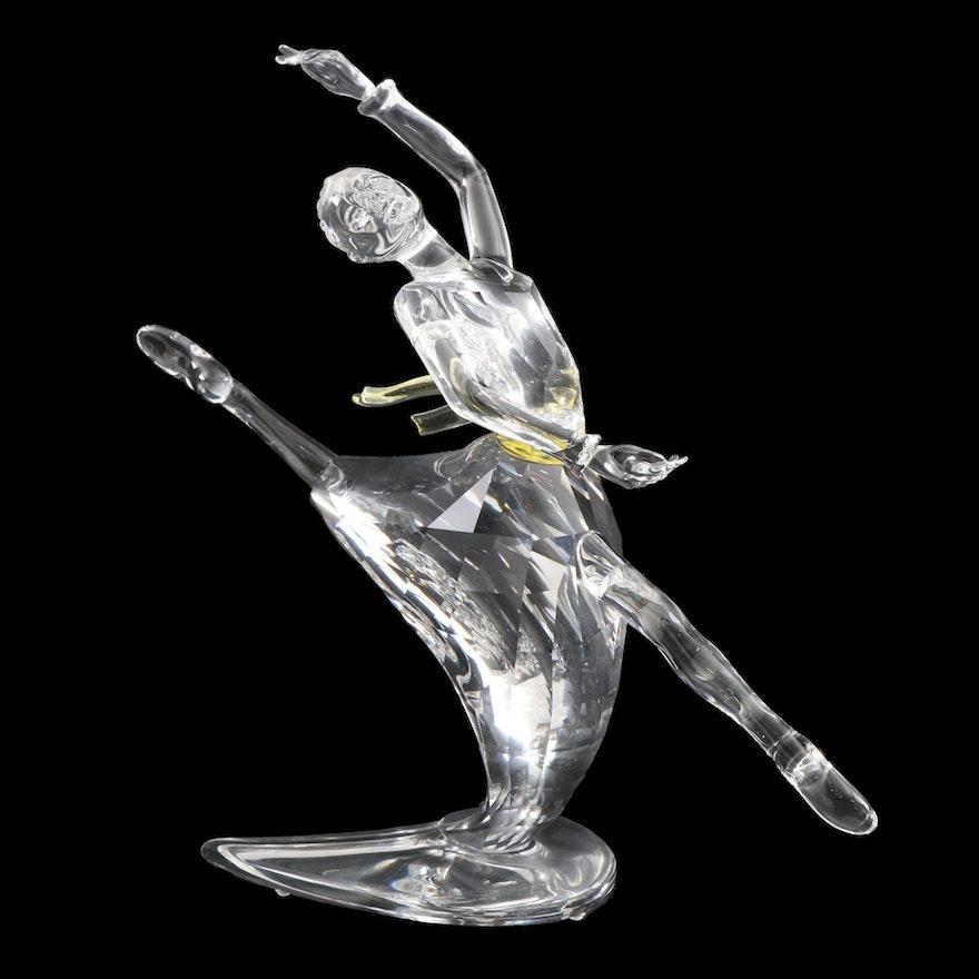 """Swarovski """"Anna Magic of Dance"""" Crystal Figurine, 2004"""