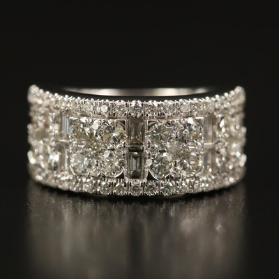 14K 2.75 CTW Diamond Ring