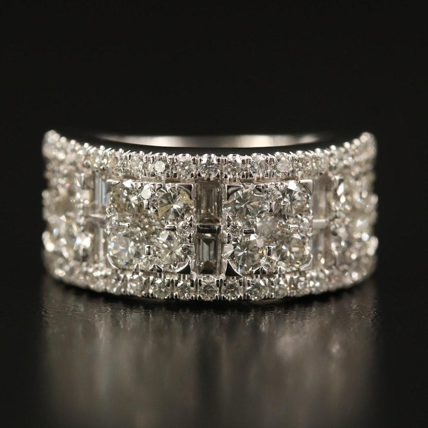 14K 2.75 CTW Diamond Ring