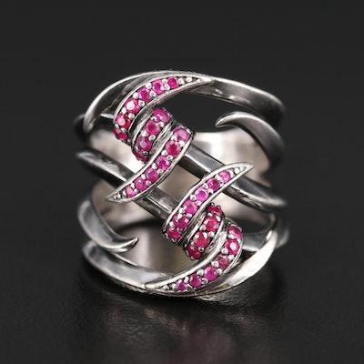 Stephen Webster Sterling Ruby Ring