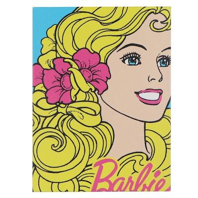"Gallery Graphique Digital Print ""Barbie,"" 2010"