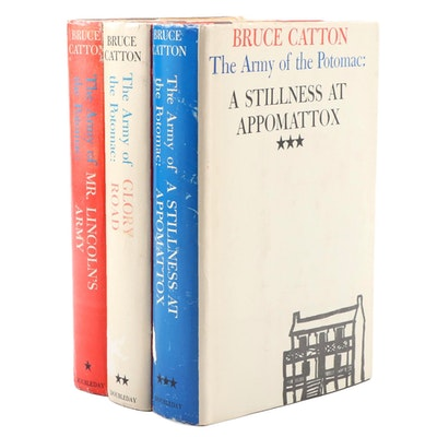 """The Army of the Potomac"" Three-Volume Set by Bruce Catton"