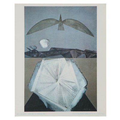 "Giclée after Max Ernst ""After I Sleep"""