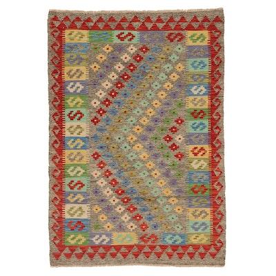 3'5 x 5' Handwoven Afghan Kilim Area Rug