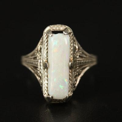 Edwardian 14K Opal Ring