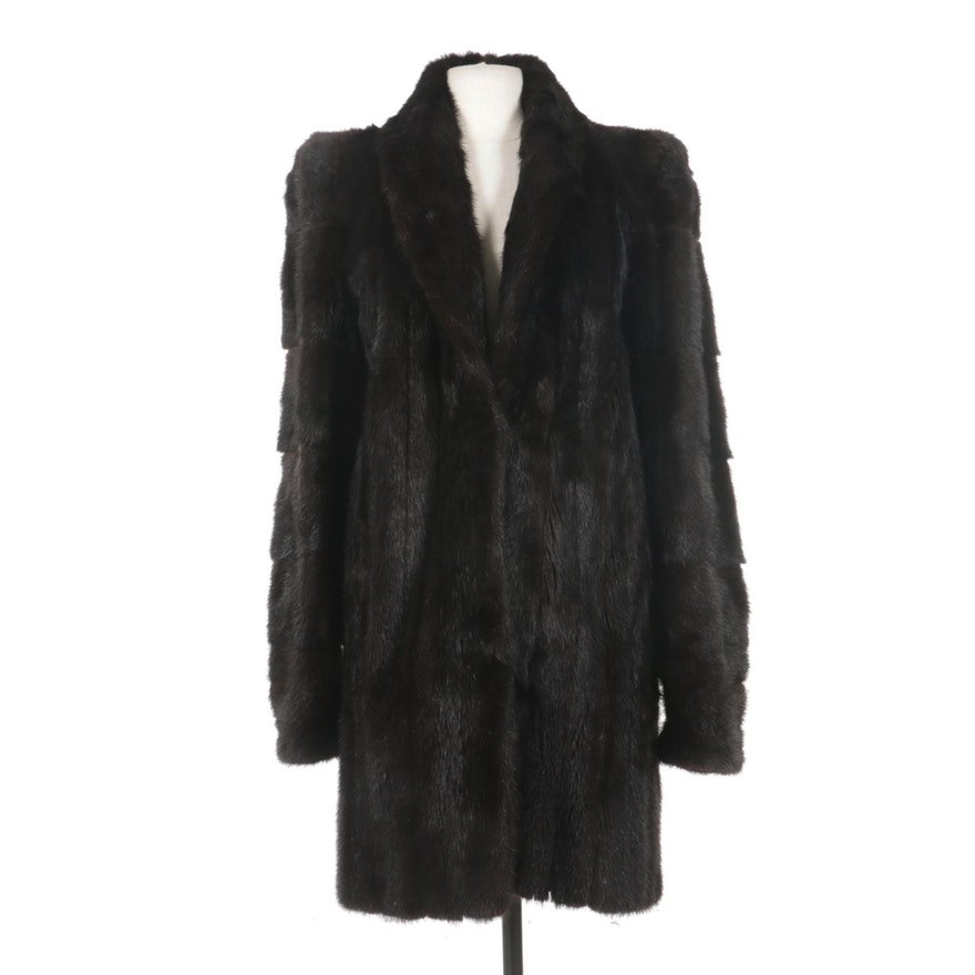 Mahogany Mink Stroller by Evans Furs