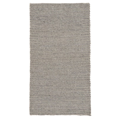 2'5 x 4'6 Handwoven Indian Wool Accent Rug