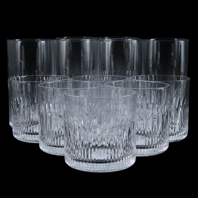 "Steelite ""Whitley"" Old Fashioned and Glass Tumblers"