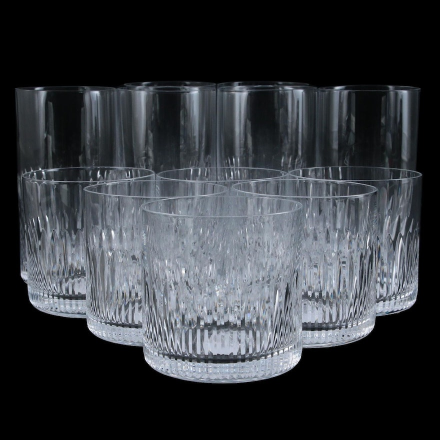 """Steelite """"Whitley"""" Old Fashioned and Glass Tumblers"""