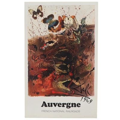 "Rotogravure after Salvador Dalí ""Auvergne,"" 1970"