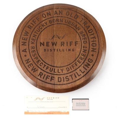 New Riff Distillery Tour, White Oak Barrel Head, and $50 Gift Card