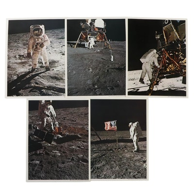 "Eastman Kodak ""Apollo 11 Moon Landing Mission"" Prints with Envelope"
