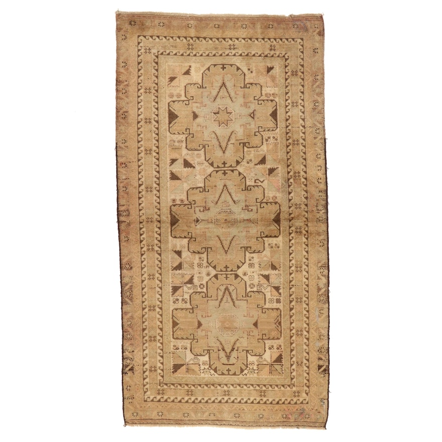 3'4 x 6'6 Hand-Knotted Afghan Baluch Area Rug