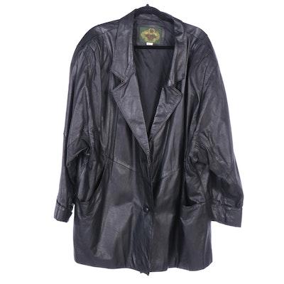 Avanti Lady Black Leather Jacket
