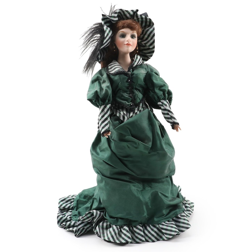 """Franklin Heirloom Musical Doll """"Colleen of County Cork"""" by Anne Jackson"""