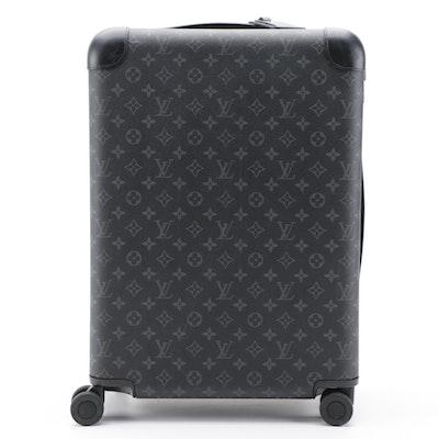 Louis Vuitton Horizon 55 Rolling Suitcase in Monogram Eclipse