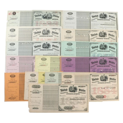 United States Internal Revenue Stamp Special Tax Certificates, 1870s-1880s