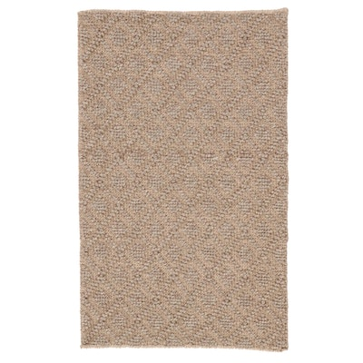 2'4 x 3'9 Handwoven Indian Accent Rug
