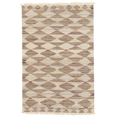 3'11 x 6'1 Handwoven Turkish Kilim Area Rug