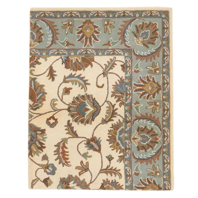 4' x 5' Hand-Tufted Indian Area Rug