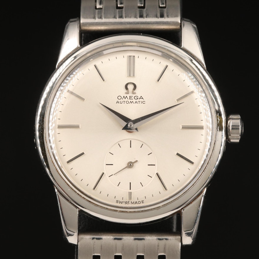 "1956 Omega ""Constellation"" Stainless Steel Automatic Wristwatch"