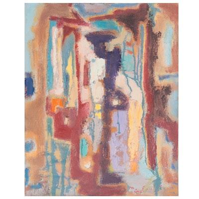 "Murat Kaboulov Oil Painting ""Florence- Pitti Palace,"" 2004"