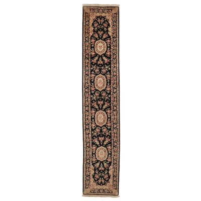 2'4 x 12'2 Hand-Knotted Persian Tabriz Carpet Runner