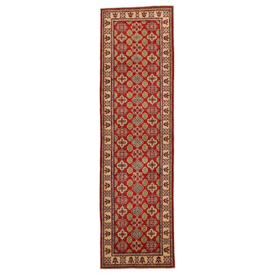 2'9 x 9'9 Hand-Knotted Pakistani Carpet Runner