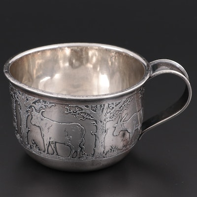 The McChesney Co. Sterling Silver Baby Cup, Early 20th Century