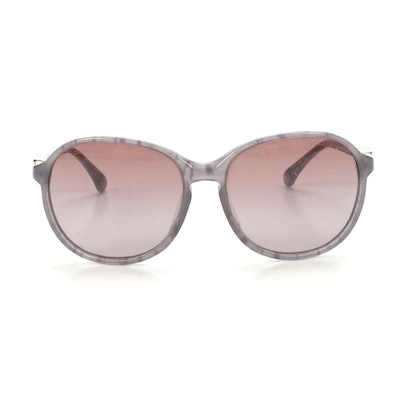 Chanel 5217-A CC Lavender Sunglasses with Case
