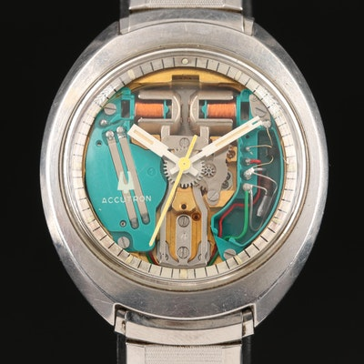"1974 Bulova ""Spaceview"" Accutron Wristwatch"