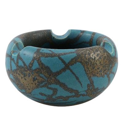 """Hiroaki """"Taimei"""" Morino Glazed Ceramic Vessel, circa 1975"""