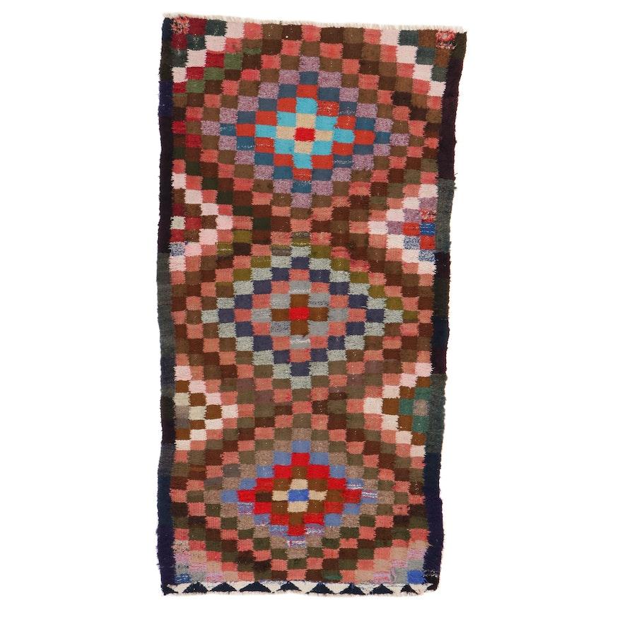 4' x 7'5 Handwoven Persian Kilim Wool Area Rug