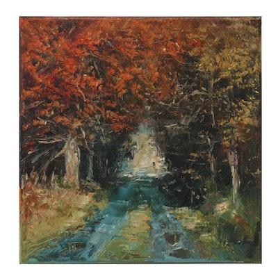 "Garncarek Aleksander Oil Painting ""Alejka"""