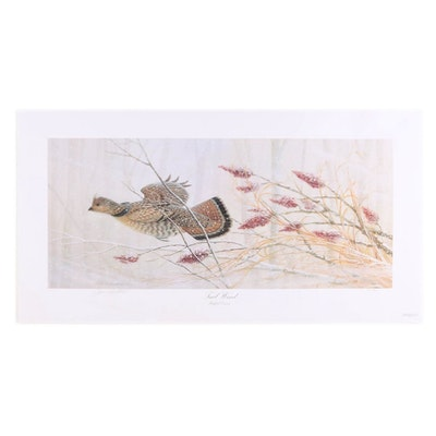 "John Ruthven Offset Lithograph ""Tail Wind,"" circa 2004"