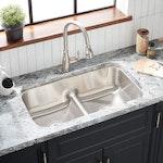 "Mirabelle ""Calverton"" 32"" Undermount Stainless Steel Kitchen Sink"